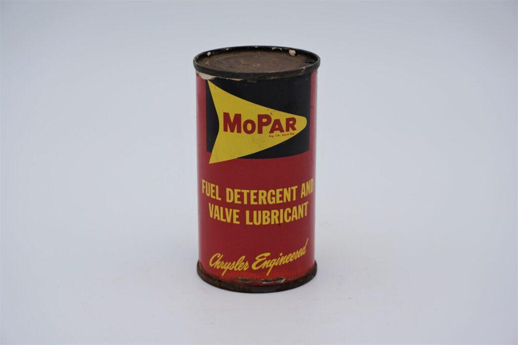 Antique Mopar Fuel Detergent & Valve Lubricant, 6 oz can.