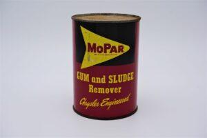Antique Mopar Gum & Sludge Remover, 1 quart can.