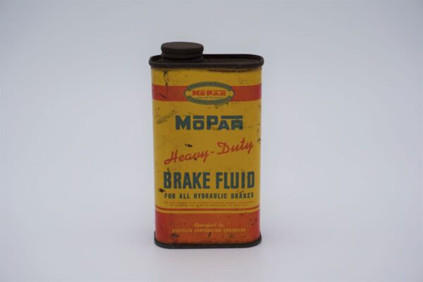 Antique Mopar Heavy Duty Brake Fluid, 8 oz can.