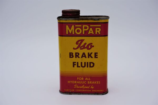 Antique Mopar Iso Brake Fluid, 16 oz can.