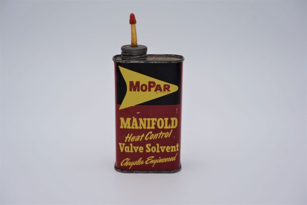 Antique Mopar Manifold Heat Control Valve Solvent, 8 oz can.