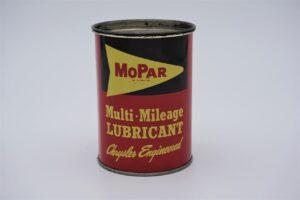 Antique Mopar Multi-Mileage Lubricant, 1 pound can.