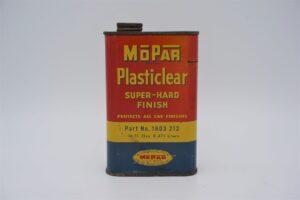 Antique Mopar Plasticlear Super-Hard Finish can, 16 oz.