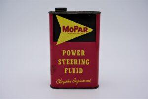 Antique Mopar Power Steering Fluid, 1 quart can.