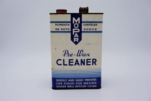 Antique Mopar Pre-Wax Cleaner, 128 oz can.