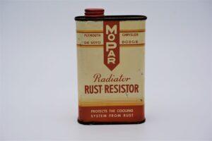 Antique Mopar Radiator Rust Resistor, 16 oz can.
