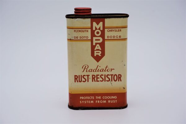 Antique Mopar Radiator Rust Resistor, 16 oz can.