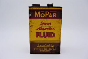 Antique Mopar Shock Absorber Fluid, 128 oz can.