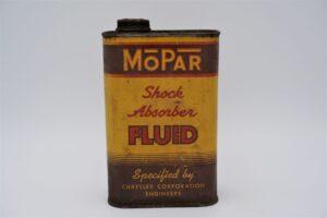 Antique Mopar Shock Absorber Fluid can, 32 oz.