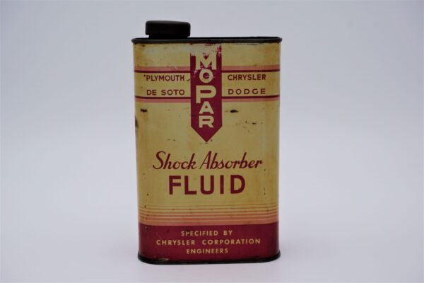 Antique Mopar Shock Absorber Fluid, 32 oz can.