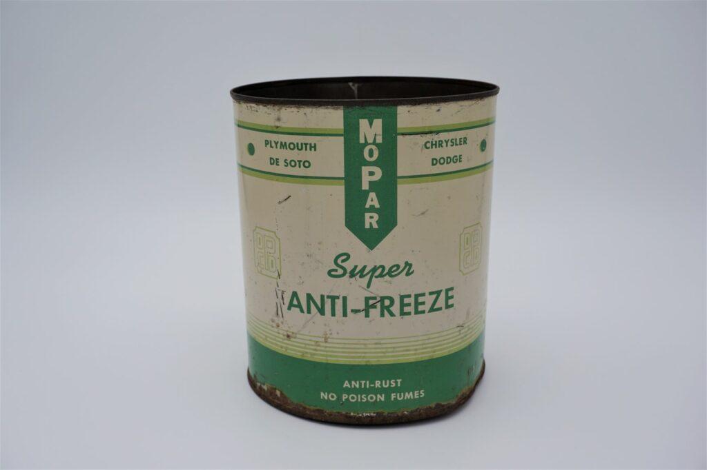 Antique Mopar Super Anti-Freeze, 128 oz can.