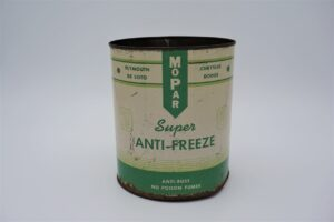 Antique Mopar Super Anti-Freeze, 128 oz can.