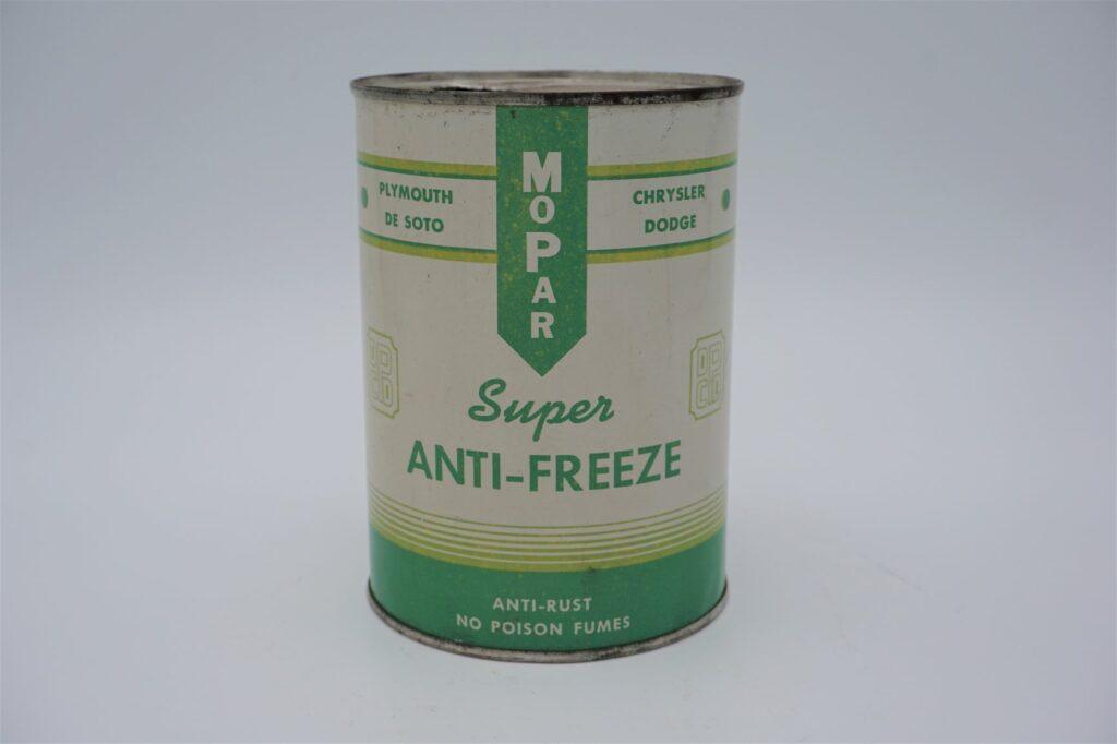 Antique Mopar Super Anti-Freeze, 32 oz can.