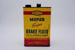Antique Mopar Super Brake Fluid, 128 oz can.