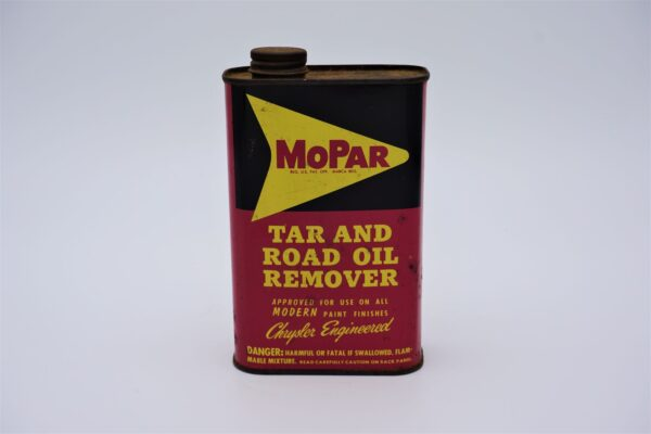 Antique Tar & Road Oil Remover, 1 pint can.