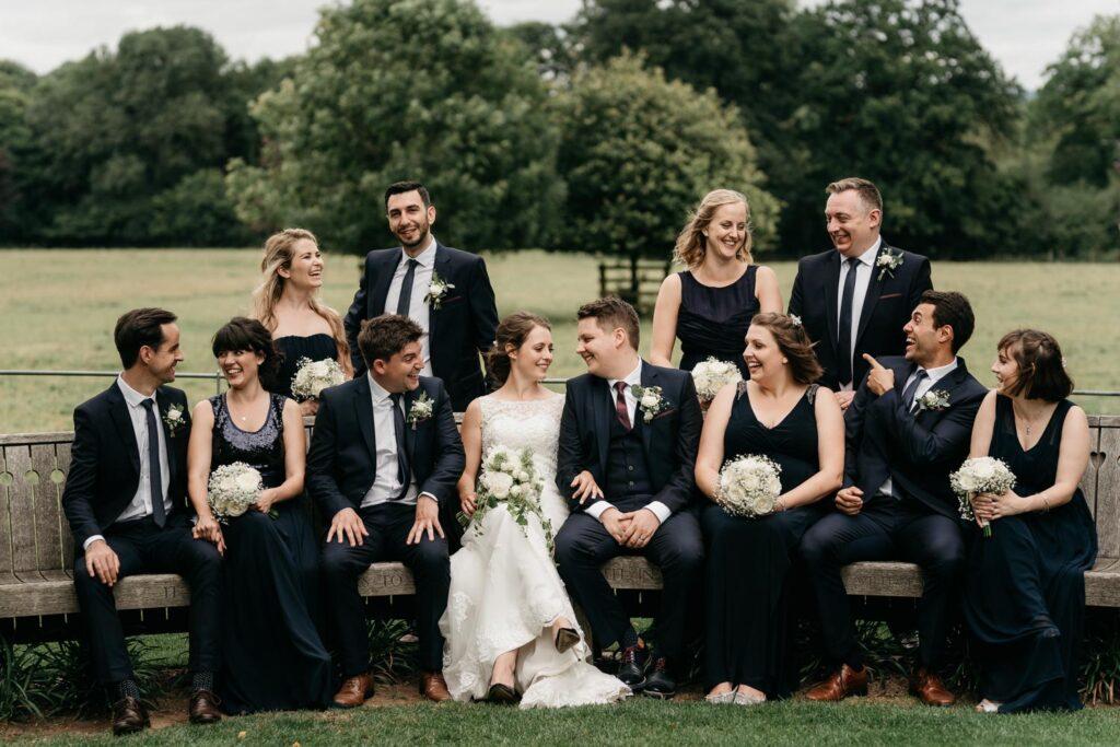 Gate Street Barn Wedding Photography Wedding Party