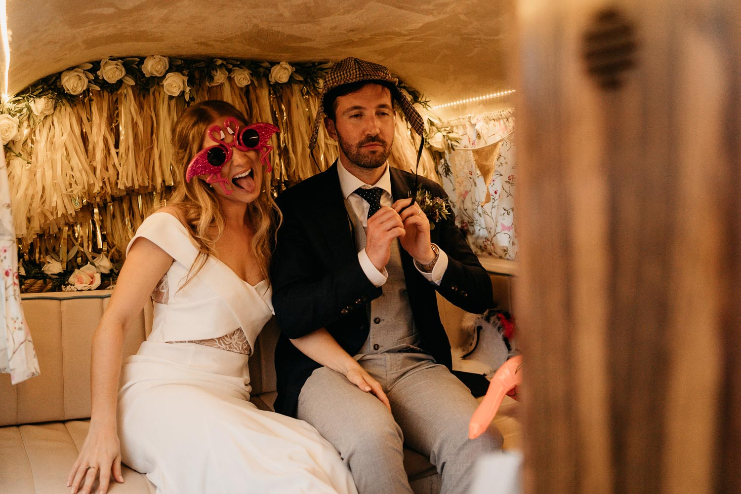 unique wedding photobooth
