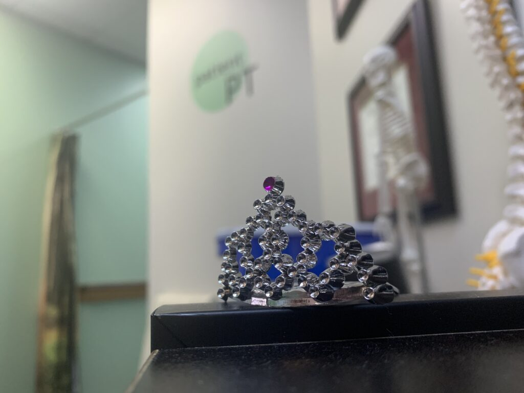 Lots of graduation tiaras given away this year