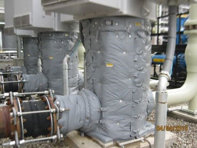 insulating chilled water systems
