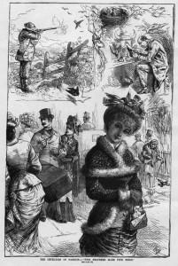 Cruelties of fashion, 1883