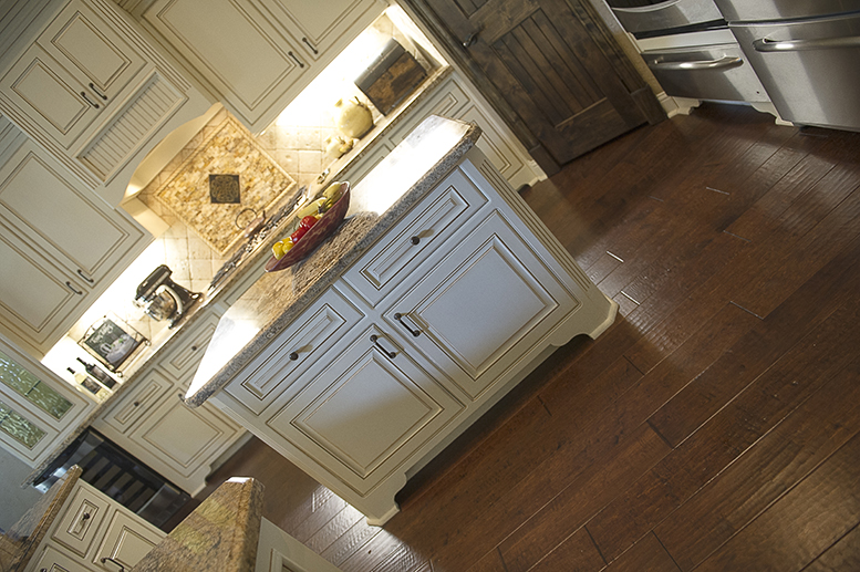 Kitchen Remodel Custom Cabinets Flooring
