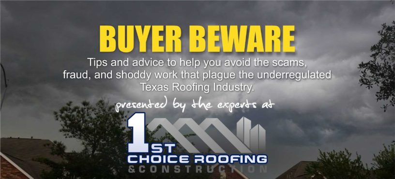 Texas Roofing Scam Blog Series