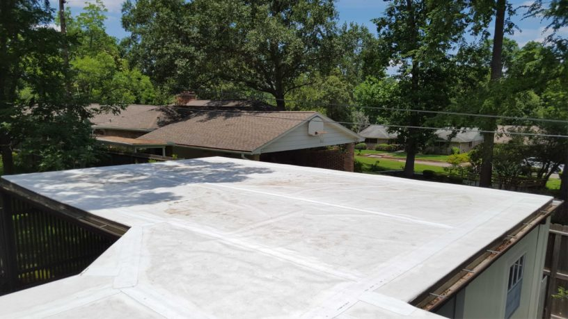 Project Tar And Gravel Roof Replaced With Durable Tpo Roofing
