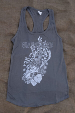 racerback shirt native plants