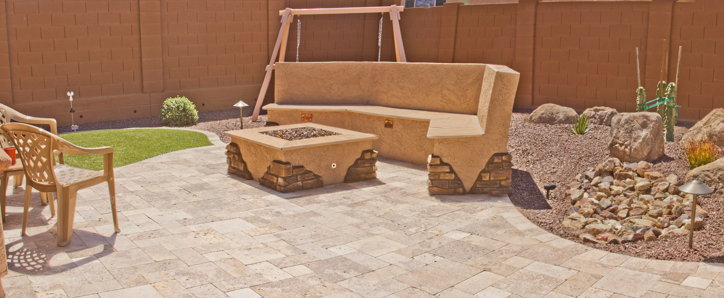 Seating Wall | Fire Pit