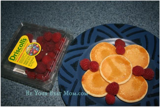 Berries with breakfast
