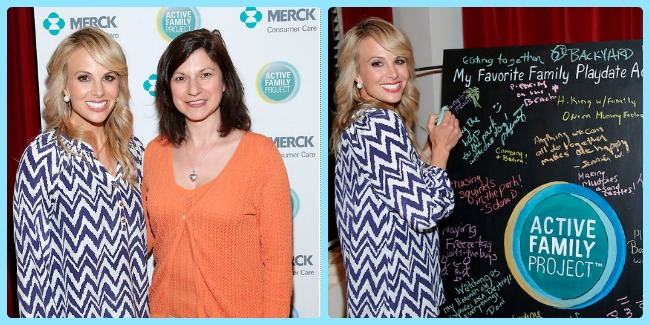 Elisabeth Hasselbeck for Merck Active Family Project