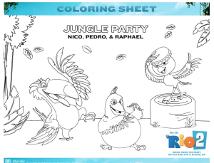 Kids Under 7: RIO Coloring Pages | 229x300