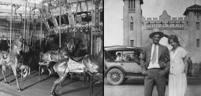 Jefferson Beach Thrills of the Past – 1927