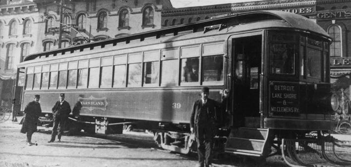 The Interurban Rail – 1901