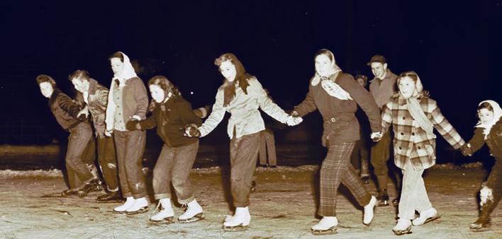 Outdoor Skating – 1952