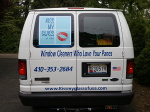 Kiss My Glass Van