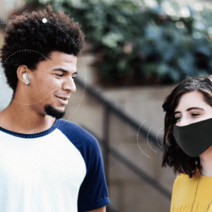 Olive Pro is a 2-in-1 Bluetooth Earbuds and Hearing Aids for All