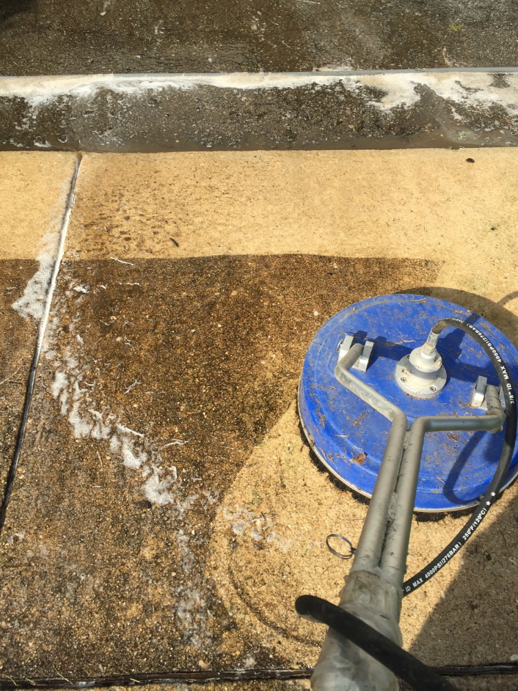 Concrete Cleaning Photo