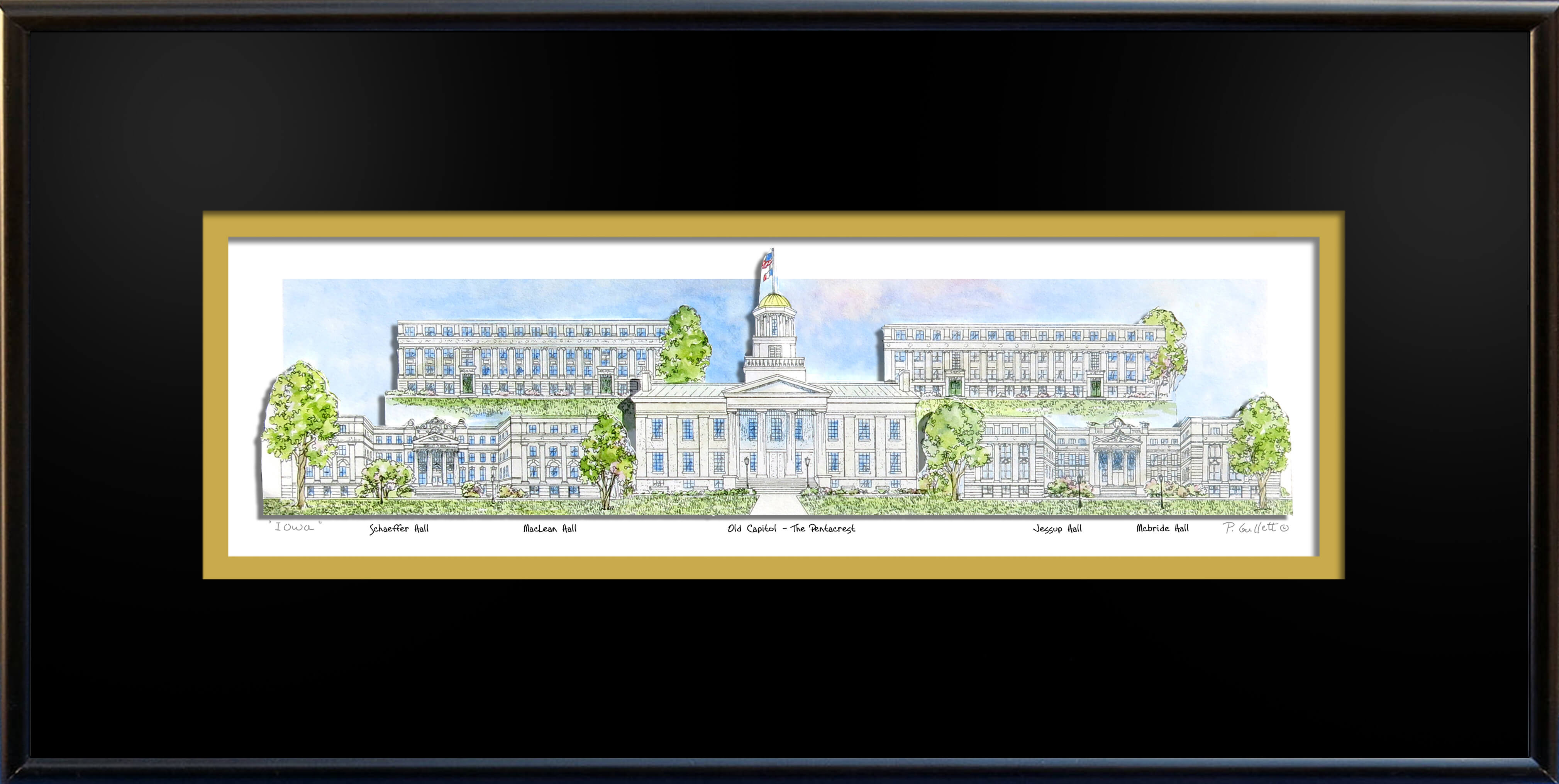 univ of Iowa frame