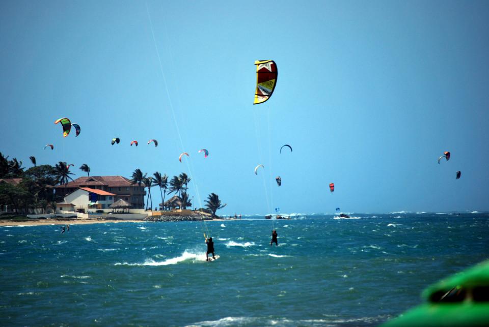 Cabarete Beach, Puerto Plata, Dominican Republic - Kite Surfers' capital of the world