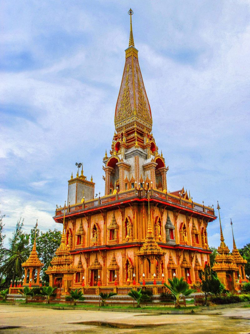 Wat Chalong, phuket - Most important Buddhist temple in Phuket