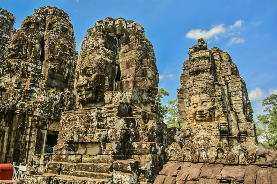 Bayon - with the faces of Avalokiteswara