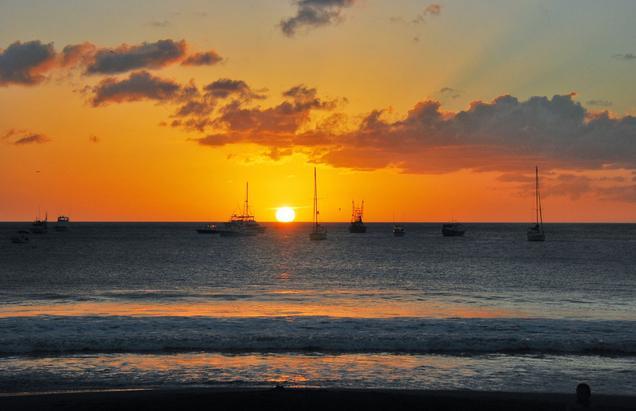 Sunset at San Juan Del Sur