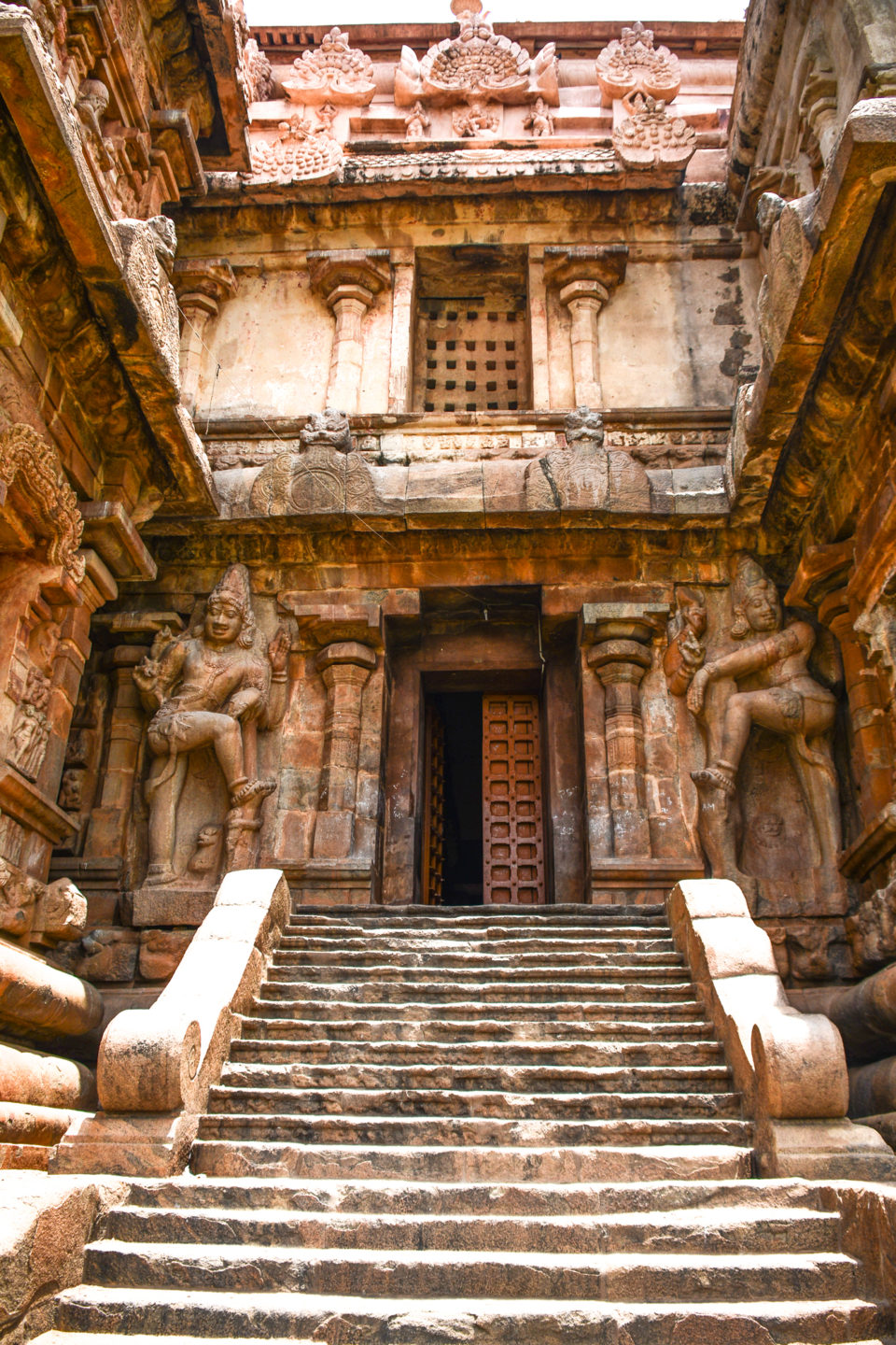 One of the temple entrances guarded by Dwarabalas