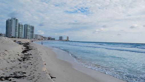 Cancun Beach - White sand beach