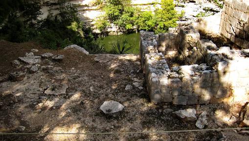 Cenote Sagrado or Sacred well