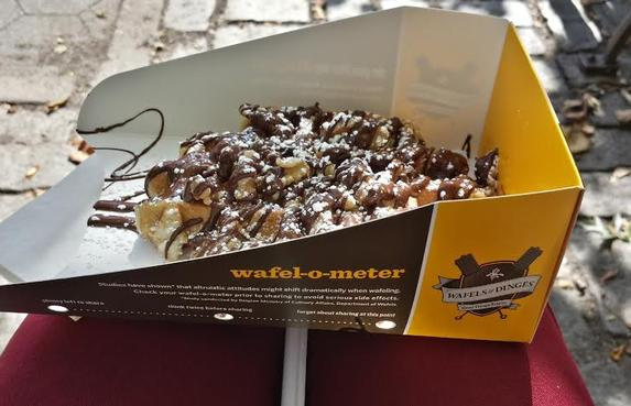Waffels and Dinges - Arguably the best Belgian waffles in New York City