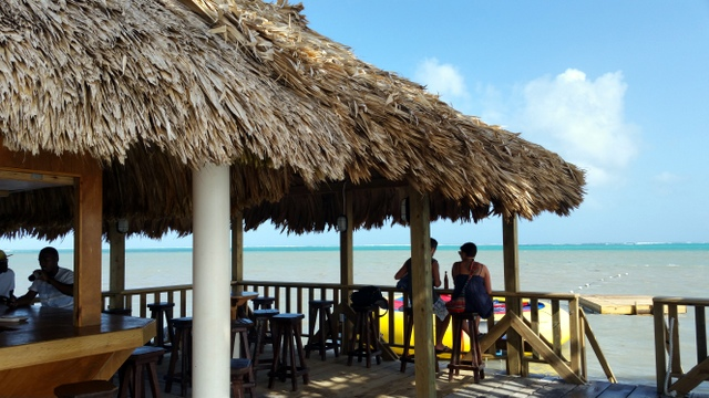 Amber Beach Bar & Grill - a nice to hangout during daytime