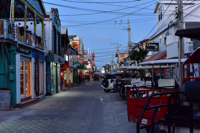 Walking down the streets of San Pedro