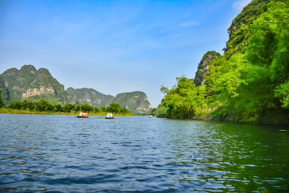 Another view of picturesque Ninh Binh in Northern Vietnam